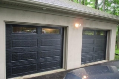 Garage doors re and re - after